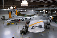 Boeing B-17G Flying Fortress (Serendigity) Tags: 390thmemorialmuseum arizona b17 boeing pimaairspacemuseum tucson usa usaaf unitedstates wwii aircraft aviation bomber hangar indoors museum unitedstatesofamerica