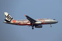Jetstar Asia   A320-232   9V-JSB (Globespotter) Tags: bangkoksuvarnabhumi intl jetstar asia a320232 9vjsb australiasoutback livery