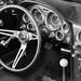 1964 Corvette Steering Wheel and Hurst Shifter