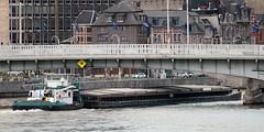 La Meuse (Liège 2019) (LiveFromLiege) Tags: liège belgique meuse passerelle saucy péniche boat luik wallonie architecture liege lüttich liegi lieja belgium europe city visitezliège visitliege urban belgien belgie belgio リエージュ льеж