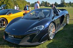 Blenheim Palace Classic and Supercar Show 2018 - McLaren 675LT Spider (Si 558) Tags: mclaren mclaren675lt 2018 palace classiccarshow blenheimpalace