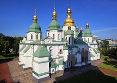 "National Sanctuary ""Sophia of Kiev"" (B℮n) Tags: київ kyiv kiev ukraine киев kiëv oekraïne dnjepr dnipro brovarskyiavenue hidropark viewpoint historical treasures river green park bridge rusanivskastrait dnieper brovary highway traffic 50faves topf50 maidan euromaidan orange revolution independence square europe centre history election president viktor janoekovytsj україна globus monument independencemonumentмонументнезалежності монументнезалежності ukrainehotel готель готельукраїна євромайдан ❤ blue yellow flag соборсвятоїсофії софійськийсобор unesco national sanctuary sophiaofkiev holy sophia cathedral complex landmark worldheritagelist ukrainian baroque architecture heritage seven wonders unescoworldheritage 100faves topf100"