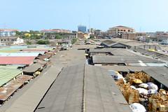 The heart of the market (Francisco Anzola) Tags: ghana accra africa city market roof sky sunny capital