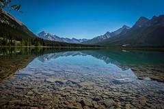 (dArLeNe M sTeWaRt) Tags: canmore alberta lake spraylakes canada mountains rockies canadianrockies clearwater glacierwater glacierlake