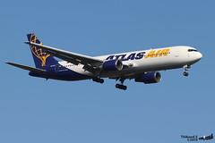 Boeing 767 -38E(ER) ATLAS AIR N641GT 25132 Ramstein avril 2019 (Thibaud.S.) Tags: boeing 767 38eer atlas air n641gt 25132 ramstein avril 2019