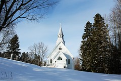 Église anglicane Holy Trinity (1900), Maple Grove, QC (Eve-Marie Roy) Tags: evemarieroy costard église church bâtiments building village rurale rural campagne old quebec canada chaudiereappalaches appalaches irlande maplegrove anglicane holytrinity