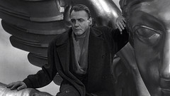 Bruno Ganz in Wings of Desire (der Himmel über Berlin), directed by Wim Wenders, 1987 (Selma Morgenstern) Tags: wingsofdesire brunoganz bnw 1987 wimwenders movie filmstill