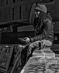 Chestnut Street, 2018 (Alan Barr) Tags: philadelphia 2018 chestnutstreet street sp streetphotography streetphoto blackandwhite bw blackwhite mono monochrome candid city people ricoh