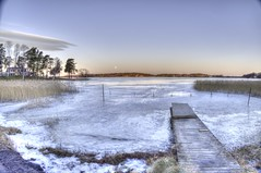 Early Morning Light (fixaraffe) Tags: hdr sunrise ice