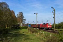 DBC 185 224 - Estorf (Weser) (Pau Sommerfeld Acebrón) Tags: