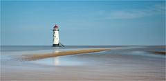 Talacre (Phil Durkin CPAGB BPE3) Tags: england lighthouse phildurkin sea talacre beach daytime dunes longexposure nopeople sand seaside shoreline