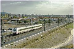 TRD en Valladolid (440_502) Tags: 594r 594 trd tren regional diésel grupo renfe operadora viajeros palencia valladolid campo grande