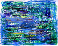 Spring Rain (Suz .. Abstract Art) Tags: art flower water garden diamond flowers love decor interior decoration abstract blue green violet acrylic action beautiful brush canvas color contemporary creative design expressive harmony joy joyful lovely mixedmedia modern oil paint painting sapphire silver stroke white ocean