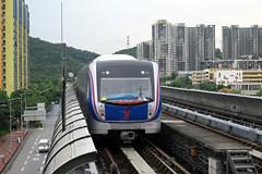xxx 04 Guangzhou Metro - Line 6 06082, (Howard_Pulling) Tags: guangzhou metro guangdong mtr china chinese line6 elevated