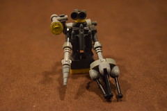 Robot Miner (LegoLyman) Tags: robotminer robot miner crystals lego legolyman awesomelego moc rock mine lonely mining drill backpack energypack light
