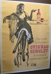 Affiche pour le cognac Ovignac Senglet - Musée des Arts du cognac, Cognac (16) (Yvette G.) Tags: cognac 16 charente poitoucharentes nouvelleaquitaine musée muséedesartsducognac