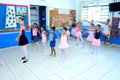 Aula de Balet na E.M. Adelaide de Magalhães em Itaboraí (1) (itaborairj) Tags: escola aula balet itaboraí indice ideb aprovada 29032019