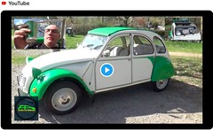 New video is now live! In today's video we take our Citroen 2CV for her first drive of 2019! (Live to Drive2) Tags: dolly deauchevaux tinsnail 2cv citroen
