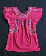 Mexico Oaxacan Blusa Blouse Zapotec Textiles (Teyacapan) Tags: blusa zapoteca mexican oaxaca santodomingoalbarradas embroidery clothing textiles ropa