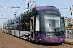 Blackpool Transport Trams: 015 Pleasure Beach (emdjt42) Tags: blackpool trams 015 pleasurebeach flexity bombardier blackpooltransport