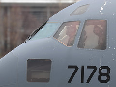 Boeing C-17A Globemaster III 07-7178 6th AS / 305th AMW (Mark McEwan) Tags: boeing c17 c17a globemasteriii 077178 6thas 6thairliftsquadron 305thamw 305thairmobilitywing pik prestwickairport prestwick aviation aircraft airplane military usaf usairforce unitedstatesairforce reach