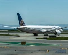 A United 787-9 Dreamliner at SFO About to Leave on Flight UA875 (AvgeekJoe) Tags: 100400mmf563 787 787dreamliner 7879 b789 boeing787 boeing787dreamliner boeing7879 boeing7879dreamliner california d5300 dslr dreamliner jetliners ksfo n19951 nikon nikond5300 sfo sanfrancisco sanfranciscointernational sigma sigma100400mmf563 sigma100400mmf563dgoshsmcontemporary usa united unitedairlines aircraft aircraftbeacon airplane airport aviation beacon jetliner plane telephotolens