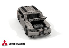 Mitsubishi CE Lancer Wagon (lego911) Tags: mitsubishi lancer ce wagon jdm japanese japan estate lego legocar lego911 moc model miniland auto car afol 1997 1990s mirage