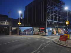 intermission (chrisinplymouth) Tags: buildingsite night cinema imax plymouth devon england uk cw69x diagx construction city dawn xg diagonal plain