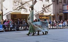 NYC Tartan Day Parade - Nessie (neilsonabeel) Tags: nikonn90s nikon nikkor film analogue parade tartanday newyorkcity nessie manhattan