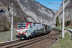 stb_190407_08 (Prefektionist) Tags: 193 193664 193773 50mmf14d austria bahn d750 eisenbahn europa europe giselarailway giselabahn golling gollingandersalzach lokomotion nikon oebb pongau rtc rail railtractioncompany railroad railway salzach salzburg salzburgtirolerbahn salzburgtyrolrailway tennengau train trains werfen öbb österreich at