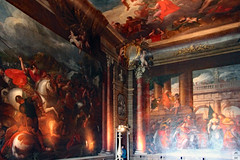 The Bow Room | Burghley House (Can Pac Swire) Tags: burghleyhouse manor house prodigy historic mansion park estate aristocracy stately home stamford lincs lincolnshire england great britain british english pe9 elizabethan tudor era period 2016aimg2745 wall painted painting room bow