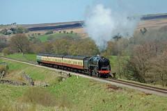 92214 (paul_braybrook) Tags: brstandard class9f steamlocomotive moorgates northyorkshiremoors heritage grosmont pickering goathland railway trains