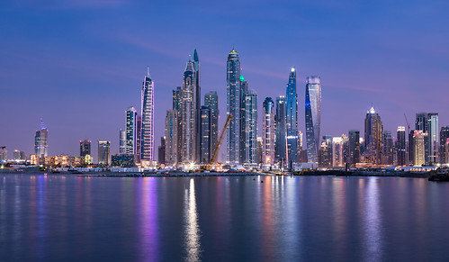 Dubai Marina - blue hour