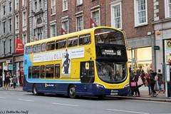 SG471 - Rt66 - WestmorelandSt - 271218 (dublinbusstuff) Tags: dublinbus dublin bus route66 westmorelandstreet maynooth wright gemini white led sg471