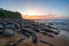 Sunrise at Copacabana, NSW (thomasdwyer) Tags: nsw nature centralcoast bouddinationalpark bouddi australia coastal coast sony sonya7 a7ii sonya7ii copacabana rocks rockpool longexposure sunrise beach ocean geology