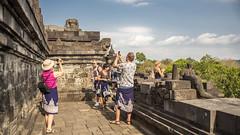 Borubudur (Hans van der Boom) Tags: vacation holiday asia indonesia indonesië java people borududur candi temple borubudur id