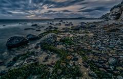 DSC03895 (karstenlützen) Tags: germany mecklenburgvorpommern mönchgut rügen kleinzicker seashore seascape balticsea greatphotographers sunset longexposure