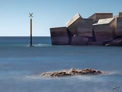 Sardina del Norte. (manuel.guerra) Tags: costa sardina largaexposición galdar rocas gáldar canarias españa es