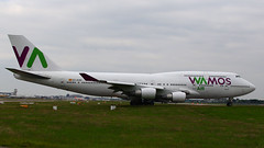 IMG_6067 EC-KXN (biggles7474) Tags: eckxn b744 b7474h6 boeing jumbo jet wamos air egkk lgw london gatwick airport