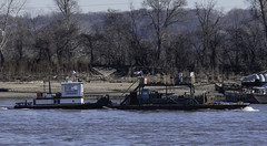 m/vSusanKay_SAF9899 (sara97) Tags: copyright©2018saraannefinke harborboat mvsusankay mississippiriver missouri photobysaraannefinke pushboat saintlouis towboat