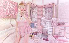 Pink Princess (Gabriella Marshdevil ~ Trying to catch up!) Tags: sl secondlife cute kawaii doll etoile catwa lagom randommatter tsg navycopper