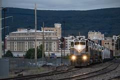 Morning in Scranton (conrail6809) Tags: alco mlw m636 c636 c630m m420 m420w dl delaware lackawanna trains scranton pa pennsylvania station october fall railfan railfanning locomotive