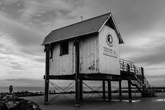Morecambe Sailing Club (raymorgan4) Tags: morecambe bay sailing club lancashire english coast tidal estuary wooden building race office yachts boats racing
