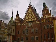Edificios con historia (marian950) Tags: edificios con historia ayuntamiento wroclaw polonia