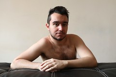 Philippe # 1 (just.Luc) Tags: man male homme hombre uomo mann 23 barechested torsenu shirtless portret portrait ritratto retrato porträt face gezicht visage gesicht stubble facialhair gay