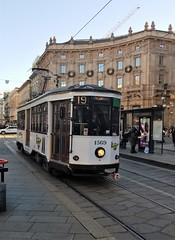Milano (6) (pensivelaw1) Tags: italy milan statues trump starbucks romanruins thefinger trams cakes architecture