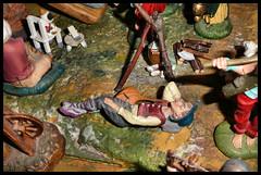 3 - SOLTANTO UNO SCIOCCO DORMIVA DISTRATTO E NON SI ACCORGEVA DEL GAUDIOSO FATTO. (claudiobertolesi) Tags: claudiobertolesi presepe gesùcristo ildormiente statuina statuinapresepe catholic christmas christianity santonatale nativity sleeping christiannativityscene