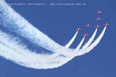 9933 7 ship R1 R2 R3 R5 R6 R7 R9 (photozone72) Tags: raf rafat redarrows reds redwhiteblue aviation aircraft jets hawk canon canon100400f4556lii canon7dmk2 7dmk2 scampton lincolnshire