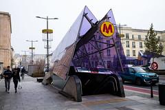 Warsaw metro (jlben Juan Leon) Tags: distagont3514 carlzeiss carlzeissdistagon3514zm leica leicam leicam240 leicamtyp240 leicamtype240 poland polonia varsovia warsaw zeissdistagont1435zm zeisst1435