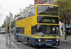 Dublin Bus AV128 (00D70128). (Fred Dean Jnr) Tags: dublinbusroute16 dublinbus dublinbusyellowbluelivery dublin bus shill volvo b7tl alexander alx400 av128 00d70128 oconnellstreetdublin november2013 nlz116